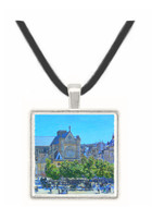 Claude Monet Saint-Germain Auxerrois, Paris 1867 -  Museum Exhibit Pendant - Museum Company Photo