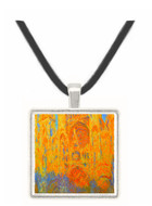 Claude_Monet - Rouen Cathedral Facade at Sunset -  Museum Exhibit Pendant - Museum Company Photo