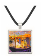 Claude_Monet_dans_son_bateau_atelier_1874 by Manet -  Museum Exhibit Pendant - Museum Company Photo