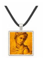 Cleopatra - Michelangelo Buonarroti -  Museum Exhibit Pendant - Museum Company Photo