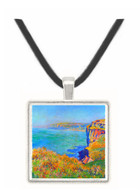 Cliffs at Varengeville by Monet -  Museum Exhibit Pendant - Museum Company Photo