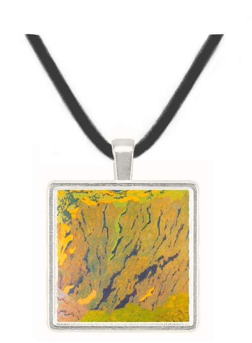 Cliffs by Felix Vallotton -  Museum Exhibit Pendant - Museum Company Photo