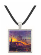 Coalbrookdale by Joseph Mallord Turner -  Museum Exhibit Pendant - Museum Company Photo