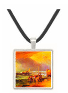 Coastal scene with fishermen by Joseph Mallord Turner -  Museum Exhibit Pendant - Museum Company Photo