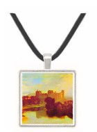 Cockermouth Castle by Joseph Mallord Turner -  Museum Exhibit Pendant - Museum Company Photo