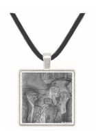 Composition draft of the law faculty image by Klimt -  Museum Exhibit Pendant - Museum Company Photo