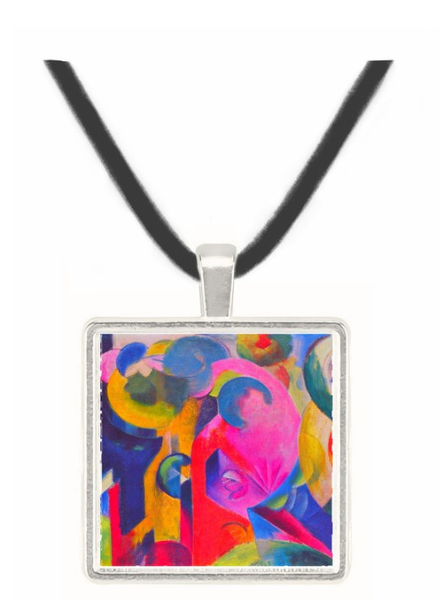 Composition III by Franz Marc -  Museum Exhibit Pendant - Museum Company Photo