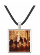 Concert in Europe by Seurat -  Museum Exhibit Pendant - Museum Company Photo