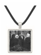 Condolences by Seurat -  Museum Exhibit Pendant - Museum Company Photo