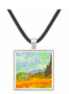Cornfield with Cyprusses by Van Gogh -  Museum Exhibit Pendant - Museum Company Photo