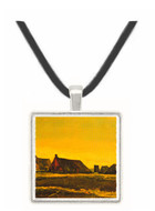 Cottages -  Museum Exhibit Pendant - Museum Company Photo