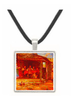 Country Breakfast - Edward Lamson Henry -  Museum Exhibit Pendant - Museum Company Photo