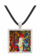 Couple in the forest by Macke -  Museum Exhibit Pendant - Museum Company Photo