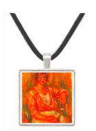 Dairymaid by Renoir -  Museum Exhibit Pendant - Museum Company Photo