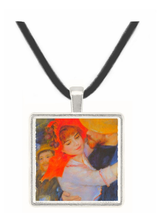 Dance in Bougival (Detail) by Renoir -  Museum Exhibit Pendant - Museum Company Photo