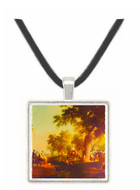 Dance of the Haymakers - Asher Brown Durand -  Museum Exhibit Pendant - Museum Company Photo