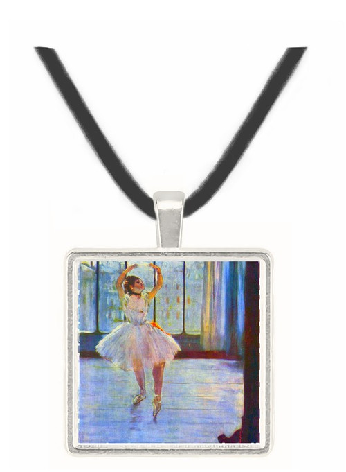 Dancer being photographed by Degas -  Museum Exhibit Pendant - Museum Company Photo