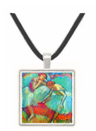 Dancers in green by Degas -  Museum Exhibit Pendant - Museum Company Photo