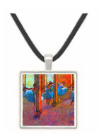 Dancers in the foyer by Degas -  Museum Exhibit Pendant - Museum Company Photo