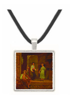 Dancing on the Barn Floor - William Morris Hunt -  Museum Exhibit Pendant - Museum Company Photo