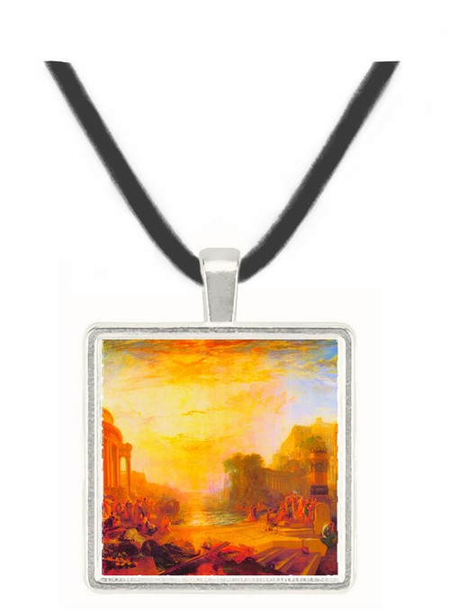 Decline of Carthagen by Joseph Mallord Turner -  Museum Exhibit Pendant - Museum Company Photo