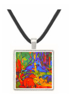 Deer in Forest by Franz Marc -  Museum Exhibit Pendant - Museum Company Photo