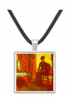 Dejected Lady by Ensor -  Museum Exhibit Pendant - Museum Company Photo