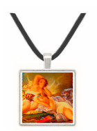 Diana at Rest - Jean Honore Fragonard -  Museum Exhibit Pendant - Museum Company Photo