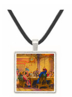 Dinner Party at a Mandarins House - Thessaloniki - Church of the Holy Apostles - Greece -  -  Museum Exhibit Pendant - Museum Company Photo