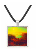 Donner Lake #2 by Bierstadt -  Museum Exhibit Pendant - Museum Company Photo