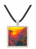 Donner Lake by Bierstadt -  Museum Exhibit Pendant - Museum Company Photo