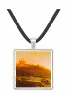 Dunstanborough Castle by Joseph Mallord Turner -  Museum Exhibit Pendant - Museum Company Photo