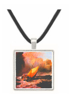 Dutch boats in a squall by Joseph Mallord Turner -  Museum Exhibit Pendant - Museum Company Photo