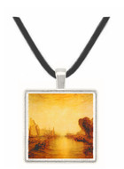 East Cowes Castle by Joseph Mallord Turner -  Museum Exhibit Pendant - Museum Company Photo