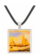 East Cowes Castle, Regatta by Joseph Mallord Turner -  Museum Exhibit Pendant - Museum Company Photo