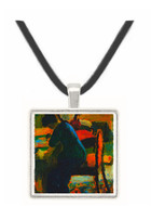 Elisabeth at the desk by Macke -  Museum Exhibit Pendant - Museum Company Photo