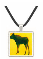 Elk by Bierstadt -  Museum Exhibit Pendant - Museum Company Photo