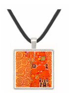 Embrace by Klimt -  Museum Exhibit Pendant - Museum Company Photo