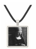 Embroidering (Portrait of the artist's mother) by Seurat -  Museum Exhibit Pendant - Museum Company Photo