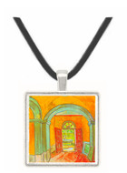 Entrance to the Hospital by Van Gogh -  Museum Exhibit Pendant - Museum Company Photo