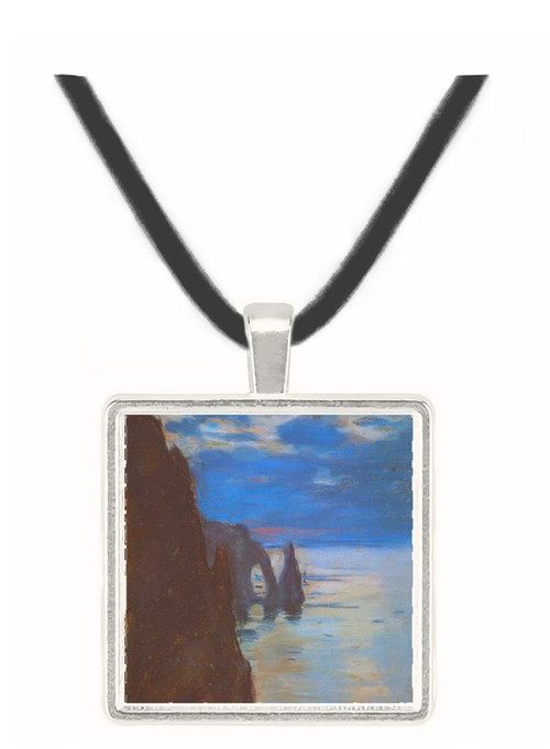 Etretat by Monet -  Museum Exhibit Pendant - Museum Company Photo