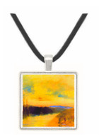 Evening landscape by Joseph Mallord Turner -  Museum Exhibit Pendant - Museum Company Photo
