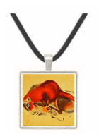Falling Bison - Altamira Cave - Spain -  -  Museum Exhibit Pendant - Museum Company Photo