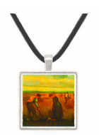 Farmers -  Museum Exhibit Pendant - Museum Company Photo