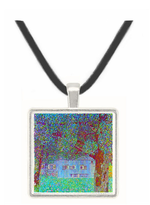Farmhouse in Upper Austria by Klimt -  Museum Exhibit Pendant - Museum Company Photo