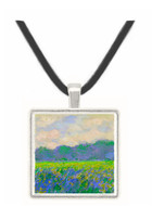 Field of Yellow Irises by Monet -  Museum Exhibit Pendant - Museum Company Photo