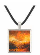 Fifth plague of Egypt by Joseph Mallord Turner -  Museum Exhibit Pendant - Museum Company Photo