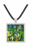 Figures by Cezanne -  Museum Exhibit Pendant - Museum Company Photo