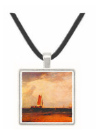 Fishing on the Blythe-Sand by Joseph Mallord Turner -  Museum Exhibit Pendant - Museum Company Photo