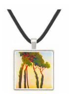Five Trees by Felix Vallotton -  Museum Exhibit Pendant - Museum Company Photo